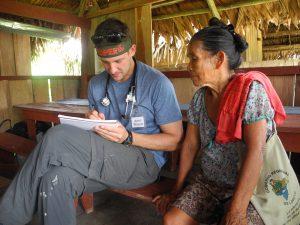 Bennett in Peru